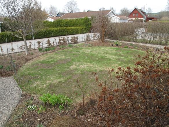 Framsidan med gräscirkeln