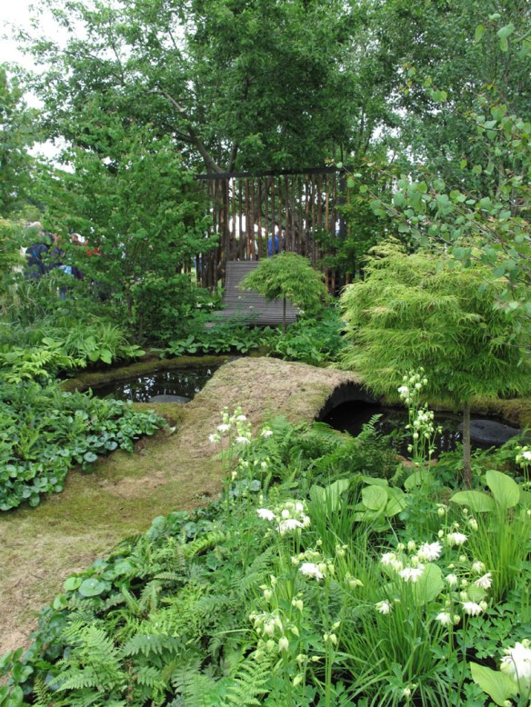 Malmö garden show Dunge med doft