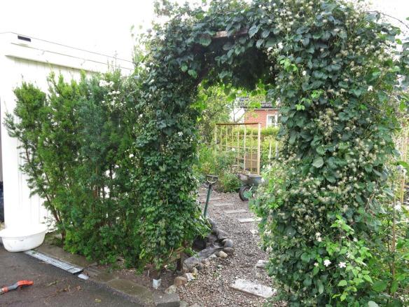 21 sep 2014 trädgårdsboden idegranshäck 2
