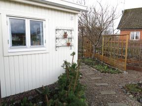 29 mars 15 trädgårdsboden skära rabetten bärlandet