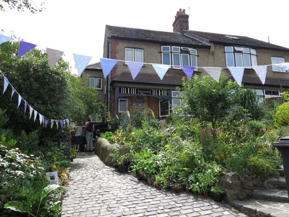London 2015 trädgård