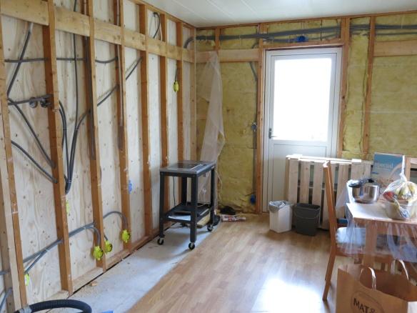 18 april 16 gamla köket renovering