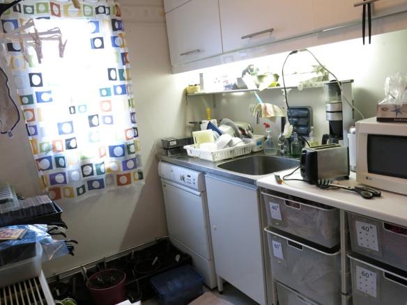18 april tvättstuga kök renovering
